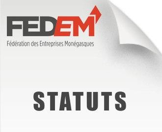 Les Statuts de la FEDEM