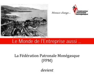 Communiqué : Changement de nom de la FPM qui devient la FEDEM