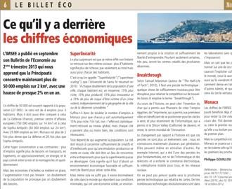 Billet Eco 1 : Ce qu\'il y a derrière les chiffres économiques