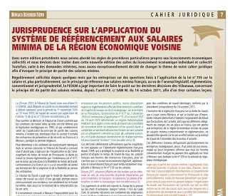 Cahier Juridique MBN 54 (décembre 2015)