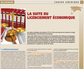 Cahier Juridique MBN 55 (mai 2016)