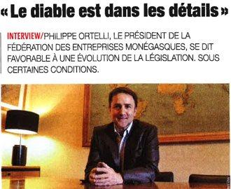 Presse : Interview du Président dans L\'Observateur de Monaco sur le Travail de nuit