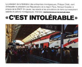 Presse : Interview du Président dans Monaco Hebdo du 9 novembre 2017