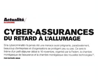 Presse : Cybersécurité : les Chambres de l\'Assurance et des Nouvelles Technologies dans Monaco Hebdo