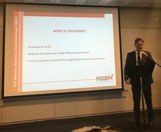AG Shipping : Intervention du Président sur le rôle de la FEDEM