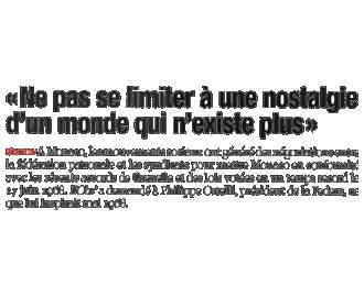 Presse : Interview du Président sur Mai 1968 publiée dans L\'Observateur de Monaco