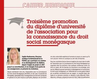 Cahier Juridique MBN 64 (Automne 2018)