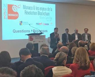 La Blockchain à Monaco : Conférence et Interview dans Monaco Business News