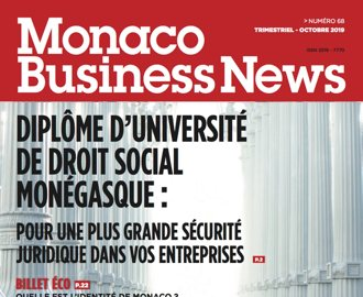 Monaco Business News n°68 (Octobre 2019)