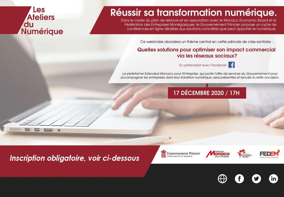 Ateliers du Numérique : Inscrivez-vous !