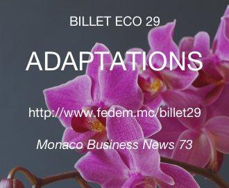 Billet Eco 29 : Adaptations