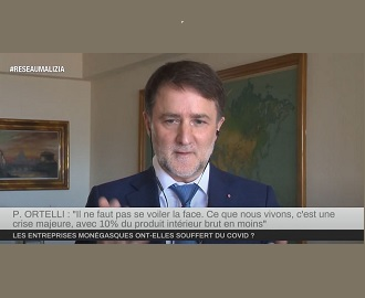 Impact de la Covid-19 sur les entreprises : Interview du Président de la FEDEM sur Monaco Info