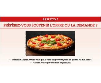 BASE ECO 8 : Préférez-vous soutenir l\'offre ou la demande ?