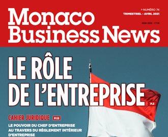 Editorial du Président - Monaco Business News 74