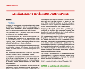 Cahier Juridique MBN 74 (Avril 2021)