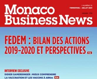 Monaco Business News 75 (Juillet 2021)